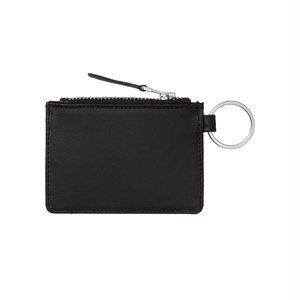 Carhartt LEATHER WALLET WITH M RING - Black