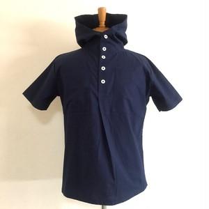 Cotton Cloth Anorak Parker Shirts Navy
