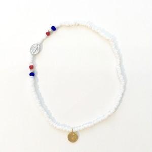 amp japan/Médaille Miraculeuse Anklet -Metal-