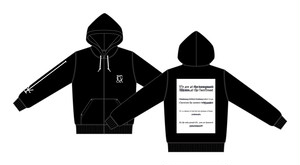 Farewell Poem zip up hoodie