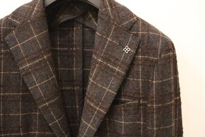 TAGLIATORE Plaid Jacket