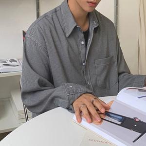 ワンポケットチェックシャツ BL5556