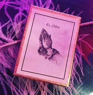 bookplates exlibris praying hands ①