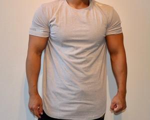 IMBDロゴTシャツ ホワイトグレー