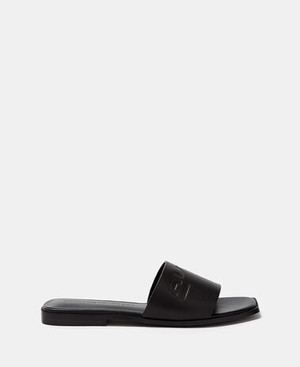 FLAT LEATHER SANDALS [296151620111]