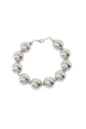 Metal Ball Bracelet | SILVER