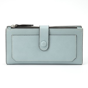 【即納・送料無料】スマホも入る カラー 長財布 財布