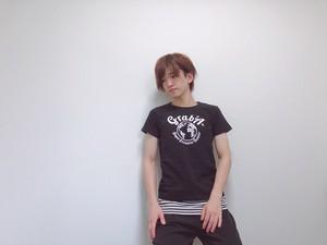 """【ロゴ・黒・GS】Grab""""A"""" Tシャツ"""