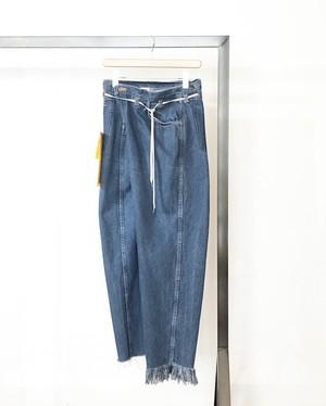 maison eureka/ vintage rework biggy pants blue