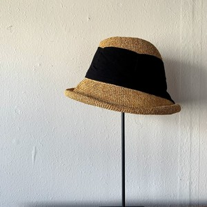 TERAI craftment|Khadi Ribbon Hat(Brown)