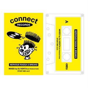<予約販売>DJ KENTA  STUDY MIX Vol.5 -NERVOUS RAGGA&BREAKS- CASSETTE TAPE&CDセット