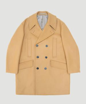 Allege Melton Pea Coat Camel AH19W-CO02A
