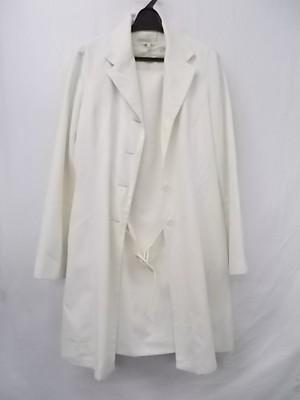 プリアンテ 古着 PURIANTE ジャケットコート&ワンピース スーツ ベージュ系 セミロング丈87 11ARサイズ ★レディース 良品★