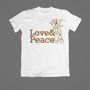Love&Peace T / XL-XXL / White