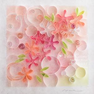 Mariko Hirai  フォトdeアート*Mariko Style   原画  【フラワーメロディ】