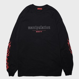 "【9月30日受注予約開始】""manipulation""Long Sleeve(Red)"