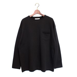 L/S Loose Pocket Tee -black <LSD-AI3T6>