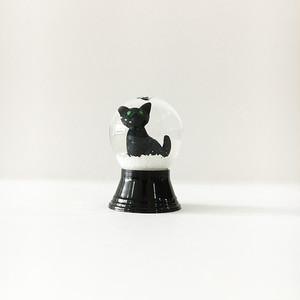 再入荷! 黒猫 PERZY社 スノードーム SS