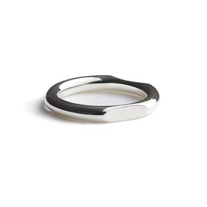 ❰ No.3 ❱ Cut silver ring