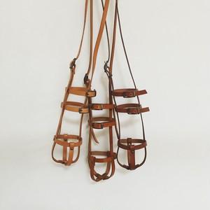 [受注製作] leather bottle strap (long bottle) : sizeS