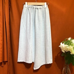 Asymmetric Sweat Shirt   Color : Gray
