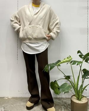 MADE IN MEXICO ENRIQUE TEXTILES   cotton pullover knit 【M】