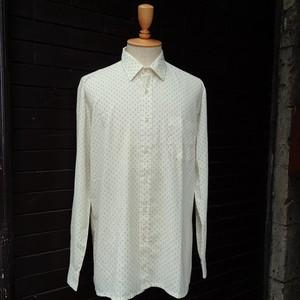 Pattern Long Sleeve Shirt  小紋柄 総柄 長袖 シャツ