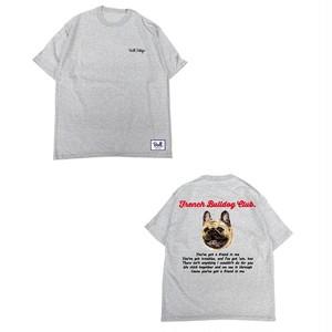 ★キッズサイズ【9/16~9/20】限定受注生産 Bull.Tokyo オリジナル Tシャツ French Bulldog Club フォーン