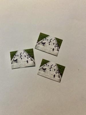 カイの鳩シリーズ:磁石 極小サイズ(3枚セット)