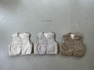 【予約販売】Autumn vest〈La.camel〉