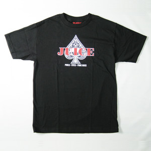 【JUICE MAGAZINE】ACE OF SPADES SHORT SLEEVE T-SHIRTS