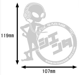 BRAINCHILDオリジナル車種ステッカー!!(シエンタ)