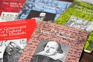 The Life of William Shakespeare -5set- /洋書ディスプレイ