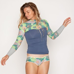 【seea】Hermosa swim shirt - Mirage