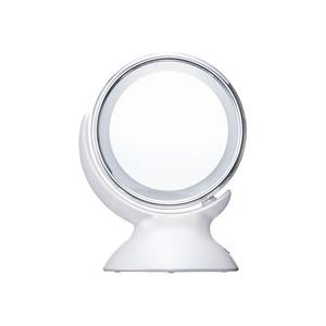 フェスティノ アラウンド LEDミラー/ホワイト SMHB-006-WH
