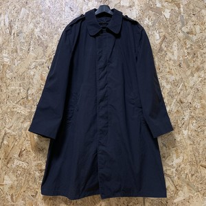 1995's アメリカ海軍 U.S.Navy Balmacaan Coat Coat All Weather,Men's, Black W/Removable Liner 【19111602】