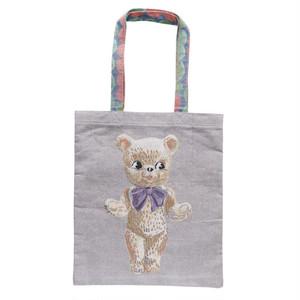 Nathalie Lete Tote Bag Stuffed Bear