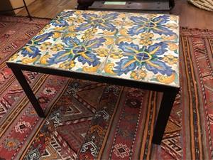 スペイン アンティークタイル テーブル