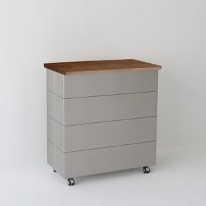 PA-1W/ゴミ箱(45L×2)     トラッシュボックス