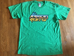 american rejects アメリカンリジェクツ Tシャツ / ロックバンド パワーポップ エモ