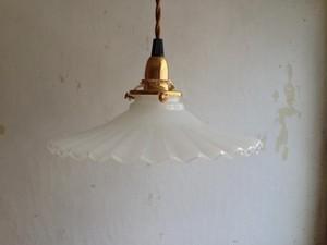 ミルクグラス ランプシェード
