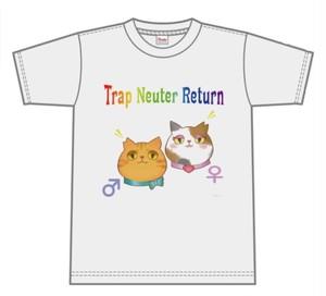 【即納】Tシャツ〜さくらねこTNR〜