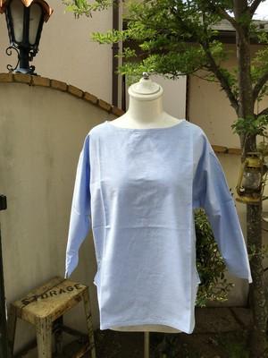 NATURAL LAUNDRY  オックスフォード バスクシャツ