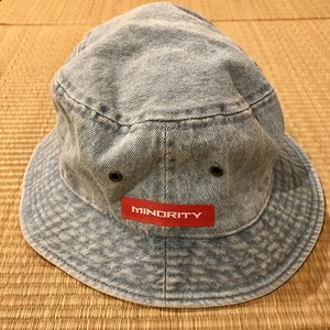 Denim Bucket Hat/MINORITY/Col.Blue