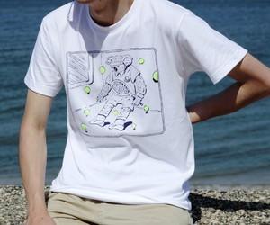【送料無料】コアラTシャツ_white