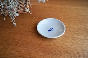 砥部焼/丸小皿/お家/森陶房kaori