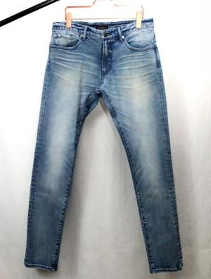 Used Denim Pants Blue