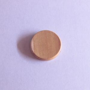 木こりのバッジ|60mm丸|001