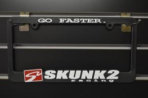 SKUNK2 Licence plate frames