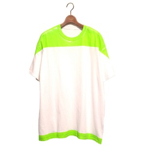Product Print Wide Tee -green <LSD-AI1T5>
